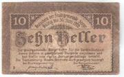 10 Heller (Steyr) – revers