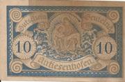 10 Heller (Antiesenhofen) – avers