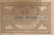 10 Heller (Antiesenhofen) – revers