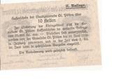 10 Heller (St. Pölten) – revers
