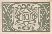 10 Heller (Neufelden) – avers