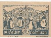 90 Heller (Hochfilzen in Tirol) – revers
