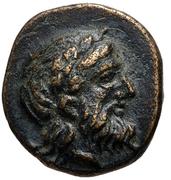Bronze Æ10 (Autokane) – avers