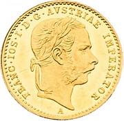 1 ducat Franz Joseph I -  avers