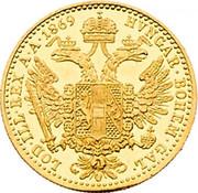1 ducat Franz Joseph I -  revers