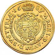 2 ducat Leopold I (Graz) -  revers