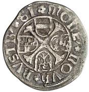 1 kreuzer Frédéric III (Vienne) – revers
