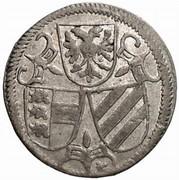 2 pfennig Ferdinand II (Klagenfurt) – avers