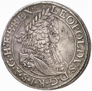 1 thaler Leopold I (Vienne) -  avers