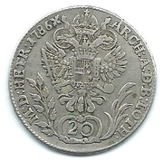 20 kreuzer Joseph II -  revers