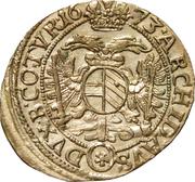 3 kreuzer Léopold I (Vienne) -  revers