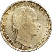 ¼ florin Franz Joseph I -  avers