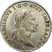 20 kreuzer Francois I -  avers