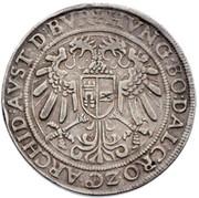 Thaler aux 3 Empereurs Ferdinand I (Hall) -  avers