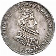 ½ thaler Ferdinand II (Klagenfurt) -  avers