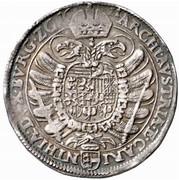 ½ thaler Ferdinand II (Klagenfurt) -  revers