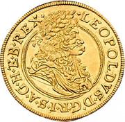 1 ducat Leopold I (Vienne) -  avers