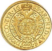 1 ducat Leopold I (Vienne) -  revers