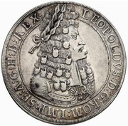 1 thaler Leopold I (Hall) -  avers