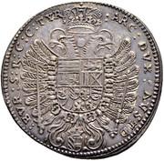 ½ thaler Ferdinand III (Vienne) -  revers