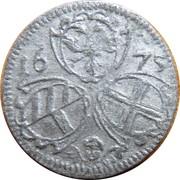2 pfennig Leopold I (Vienne) – avers