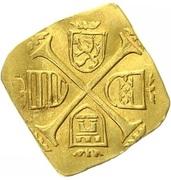 1 ducat Monnaie de siège Ferdinand I -  revers