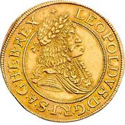 2 ducat Leopold I (Vienne) -  avers