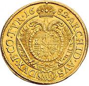 2 ducat Leopold I (Vienne) -  revers
