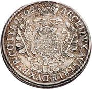 ½ thaler Leopold I (Vienne) -  revers