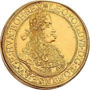 10 ducats Leopold I (Graz) -  avers