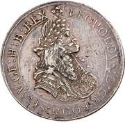 2 thaler Leopold I (St Veit) -  avers