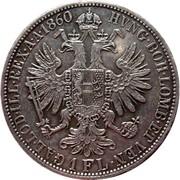 1 florin Franz Joseph I -  avers