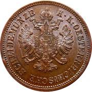 4 kreuzer Franz Joseph I -  avers