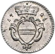 1 pfennig Charles VI (Vienne) – avers