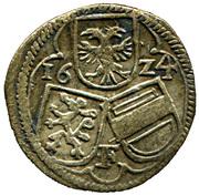 2 pfennig  Ferdinand II (Graz) – avers
