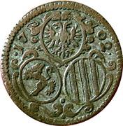 2 pfennig Leopold I (Graz) – avers