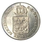 6 kreuzer Franz Joseph I -  avers