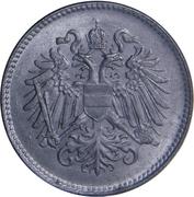 20 heller Karl I -  avers