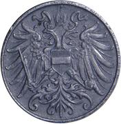 2 heller - Karl I -  avers