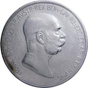 5 couronnes Franz Joseph I -  avers