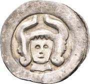 1 pfennig Albrecht I (Wiener Neustadt) – avers