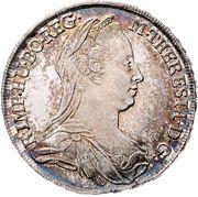½ thaler Marie Thérèse (Vienne) -  avers