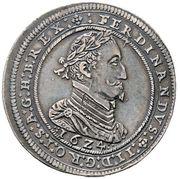 ½ thaler Ferdinand II (Graz) -  avers