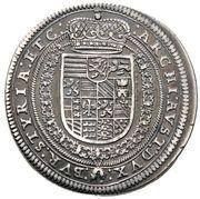 ½ thaler Ferdinand II (Graz) -  revers