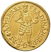 1 ducat Ferdinand III (Graz) -  avers