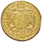 1 ducat Ferdinand III (Graz) -  revers