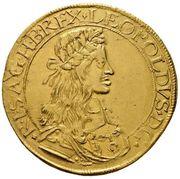 10 ducat Leopold I (Vienne) – avers
