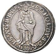 ¼ thaler Leopold I (Vienne) – avers
