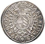 ¼ thaler Leopold I (Vienne) – revers