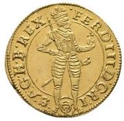 1 ducat Ferdinand III (Vienna) -  avers